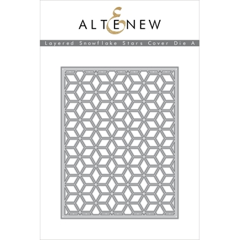 Altenew LAYERED SNOWFLAKE STAR COVER DIE A ALT3500