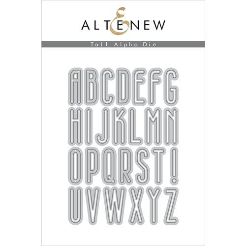 Altenew TALL ALPHA Dies ALT3499 Preview Image