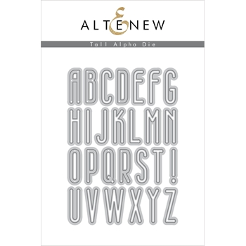 Altenew TALL ALPHA Dies ALT3499