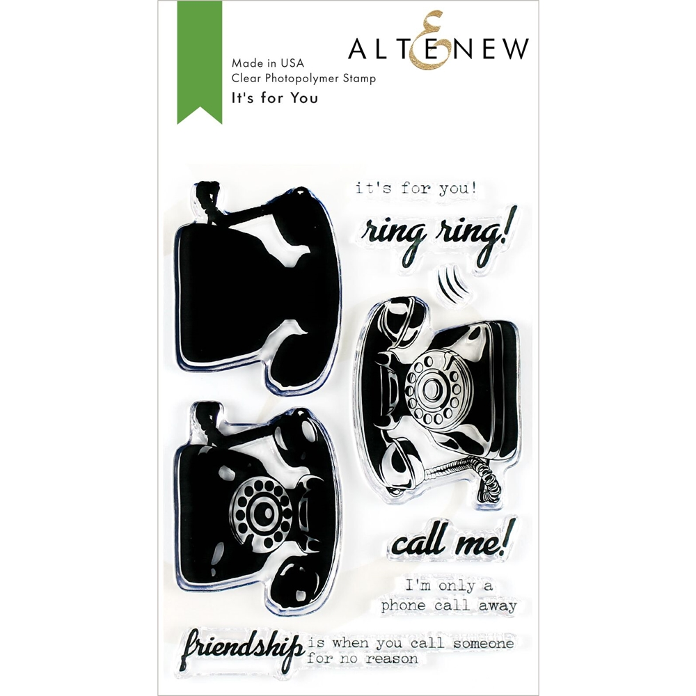 Altenew IT'S FOR YOU Clear Stamps ALT3489 zoom image
