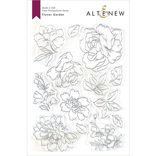 Altenew FLOWER GARDEN Clear Stamps ALT3485 Preview Image