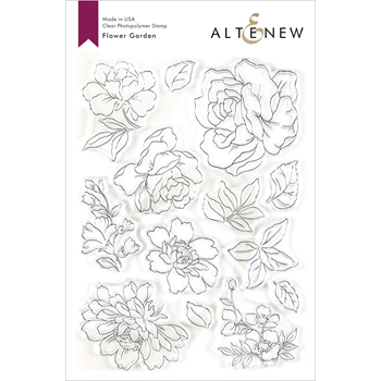 Altenew FLOWER GARDEN Clear Stamps ALT3485