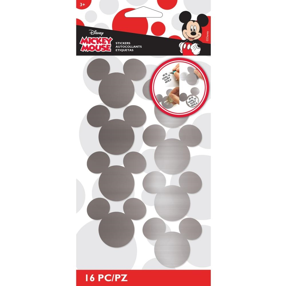 EK Success MICKEY MOUSE SCRATCH OFF STICKERS 53-00097 zoom image