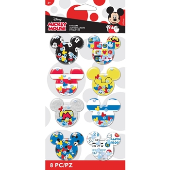 EK Success MICKEY MOUSE SHAKER STICKERS 53-30091