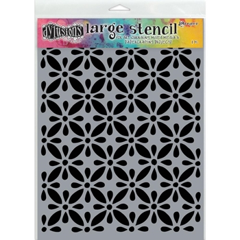 Dyan Reaveley Stencil 9 x 12 LARGE QUILTS Dylusions DYS68709