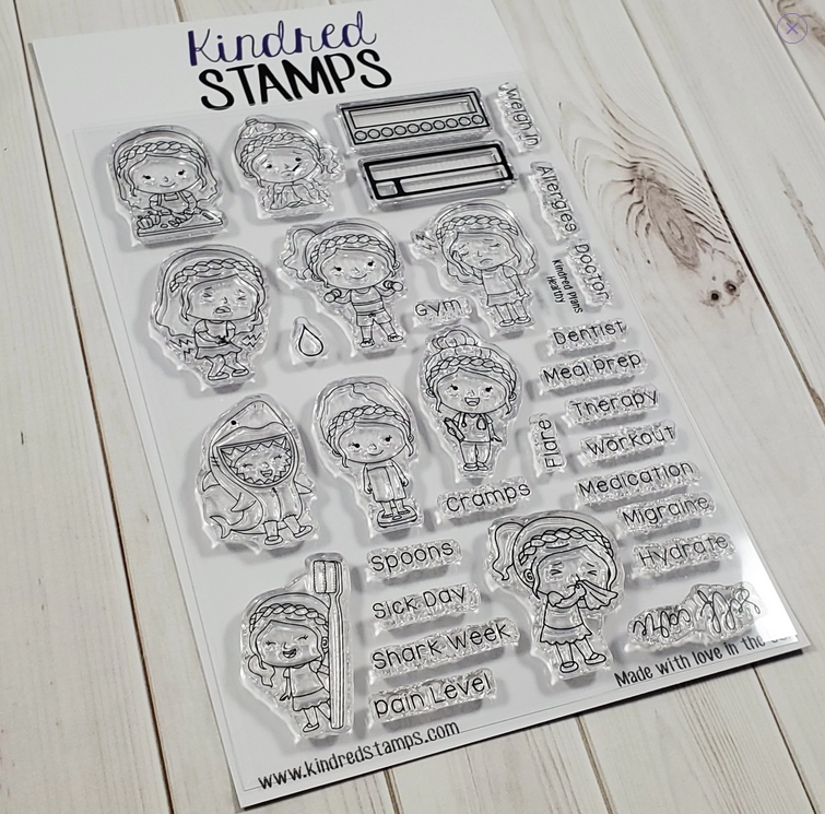 Kindred Stamps HEALTHY Clear Stamps 98488892 zoom image
