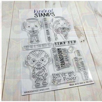 Kindred Stamps STAR POWER Clear Stamps 28684092