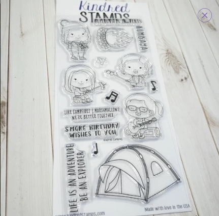 Kindred Stamps KINDRED CAMPING Clear Stamps 73298236 Preview Image