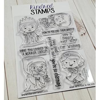 Kindred Stamps I'M WISHING Clear Stamps 13912892