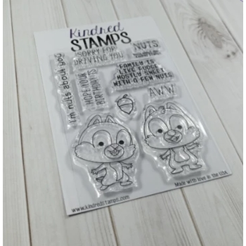 Kindred Stamps NUTS ABOUT YOU Clear Stamps 12339740