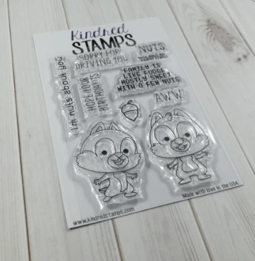 Kindred Stamps NUTS ABOUT YOU Clear Stamps 12339740 zoom image