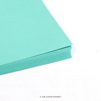 The Stamp Market TROPIC TEAL Color Crush Cardstock tsm714