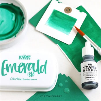 The Stamp Market EMERALD Color Crush Cardstock tsm710
