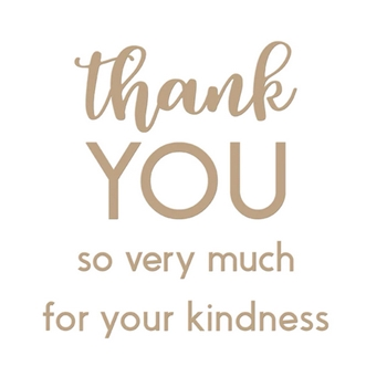 GLP-145 Spellbinders THANK YOU COMBO Glimmer Hot Foil Plates