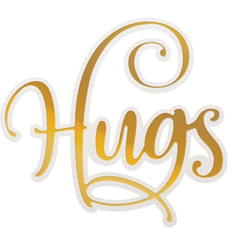 Couture Creations HUGS Cut, Foil And Emboss Die co726949 Preview Image