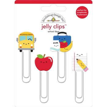 Doodlebug SCHOOL DAYS Jelly Clips Paper Clip 6370