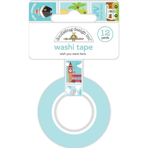 Doodlebug WISH YOU WERE HERE Washi Tape 6345 Preview Image