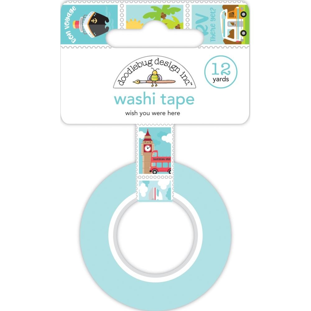 Doodlebug WISH YOU WERE HERE Washi Tape 6345 zoom image