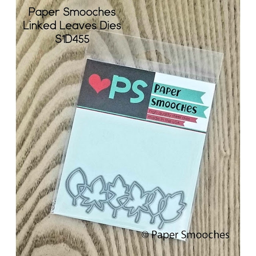 Paper Smooches LINKED LEAVES Wise Dies S1D455 Preview Image