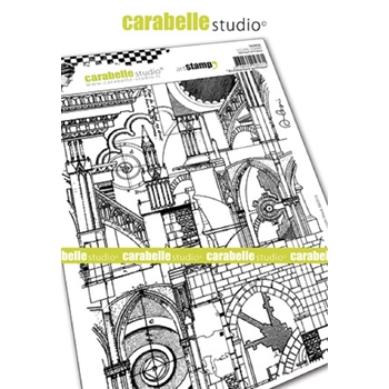 Carabelle Studio GOTHIC ARCHITECTURE  Cling Stamp sa50036