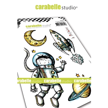 Carabelle Studio IN SPACE Cling Stamps sa60477