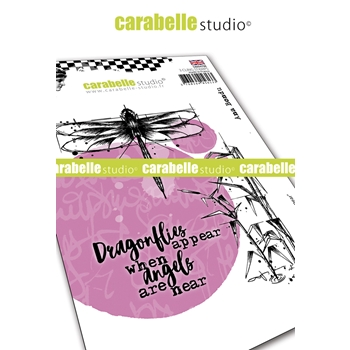 Carabelle Studio ANGELS ARE NEAR Cling Stamps sa60478e