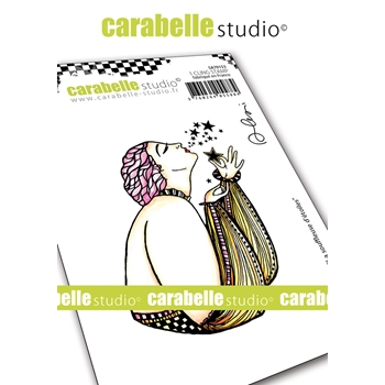 Carabelle Studio STAR BLOWER Cling Stamp sa70153