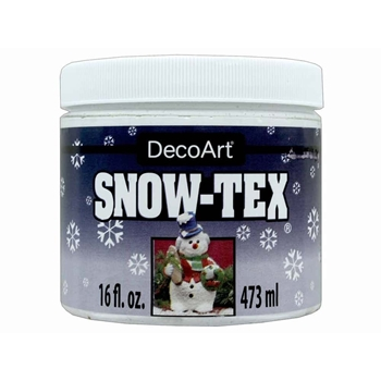 DecoArt SNOW-TEX Texture Medium 16oz das9