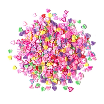 Buttons Galore and More Spinkletz CANDY HEARTS Embellishments NK110