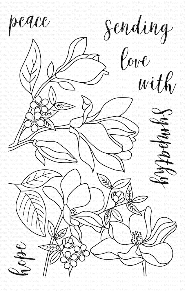 My Favorite Things FLORAL FOCUS Clear Stamps CS406 zoom image