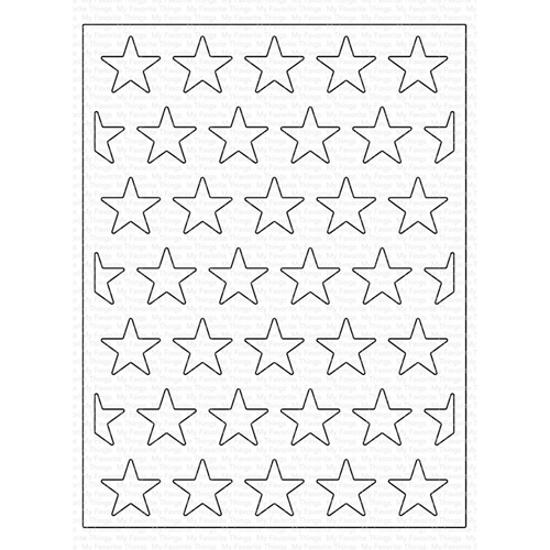 My Favorite Things ALL THE STARS COVER-UP Die-Namics MFT1590 Preview Image