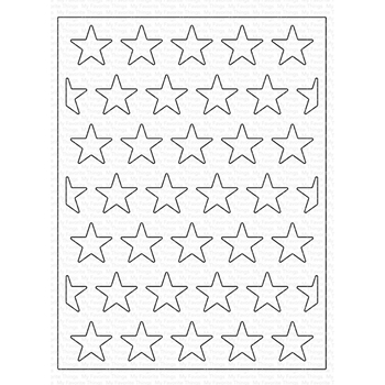 My Favorite Things ALL THE STARS COVER-UP Die-Namics MFT1590