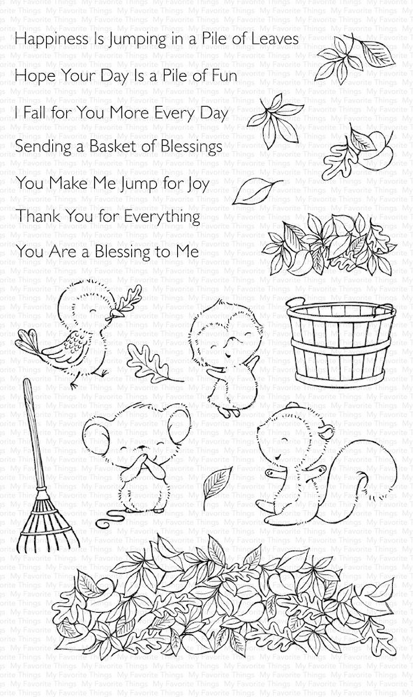 My Favorite Things PILE OF FUN Clear Stamps SY13 zoom image