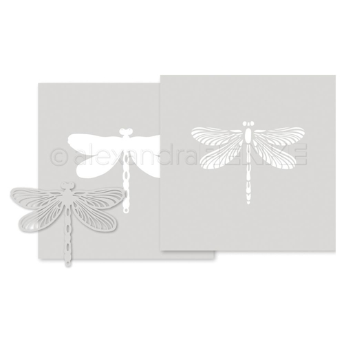 Alexandra Renke DRAGONFLY Stencils starti0004 Preview Image