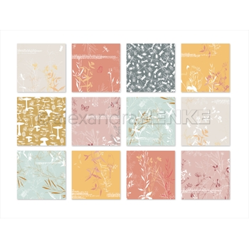 Alexandra Renke LENA'S AUTUMN COLLECTION 6x6 Paper b100003