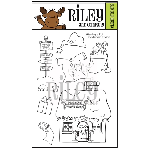 Riley and Company Clear Stamp Dress Up Riley NORTH POLE RCLR23 Preview Image