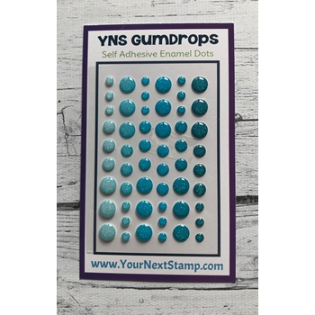 Your Next Stamp BLUEBERRY BLITZ SPARKLY Gumdrops ynsgd103