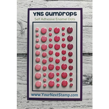 Your Next Stamp PINK PIZAZZ SPARKLY Gumdrops ynsgd106