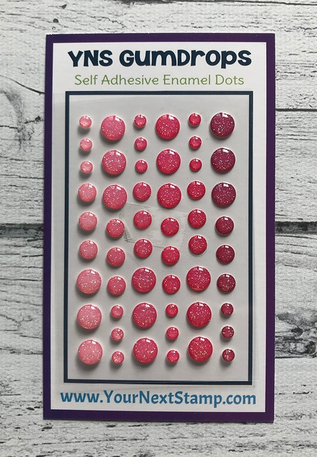 Your Next Stamp PINK PIZAZZ SPARKLY Gumdrops ynsgd106 zoom image
