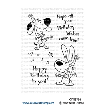 Your Next Stamp BIRTHDAY SONG Clear cyns724