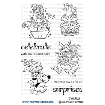 Your Next Stamp BIRTHDAY SURPRISES Clear cyns727
