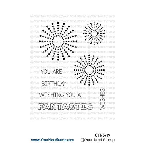 Your Next Stamp CIRCLE BURSTS Clear cyns719 Preview Image
