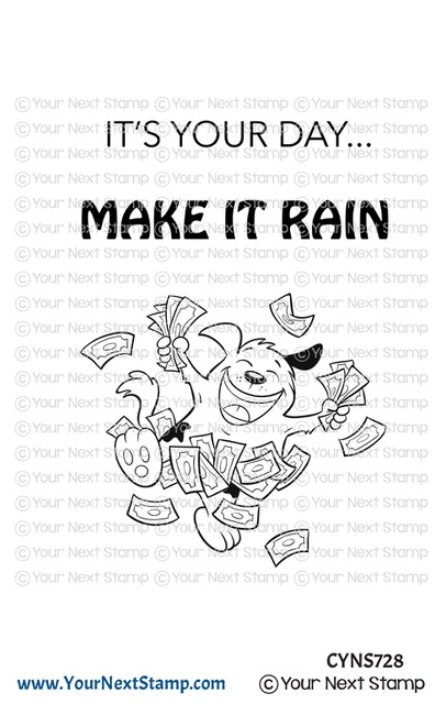Your Next Stamp MAKE IT RAIN Clear cyns728 zoom image