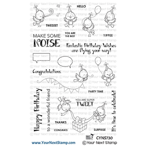 Your Next Stamp MAKE SOME NOISE Clear cyns730 Preview Image