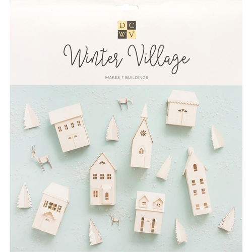 DCWV WINTER VILLAGE Paper Project 621585 Preview Image
