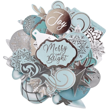 Kaisercraft LET IT SNOW Collectables Die Cut Shapes CT968