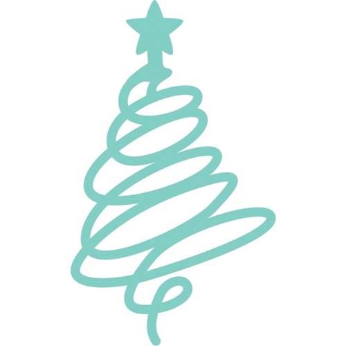 Kaisercraft SQUIGGLE CHRISTMAS TREE Decorative DIY Die Cut DD3348 Preview Image