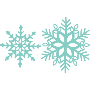 Kaisercraft SNOWFLAKES Decorative DIY Die Cuts DD3343