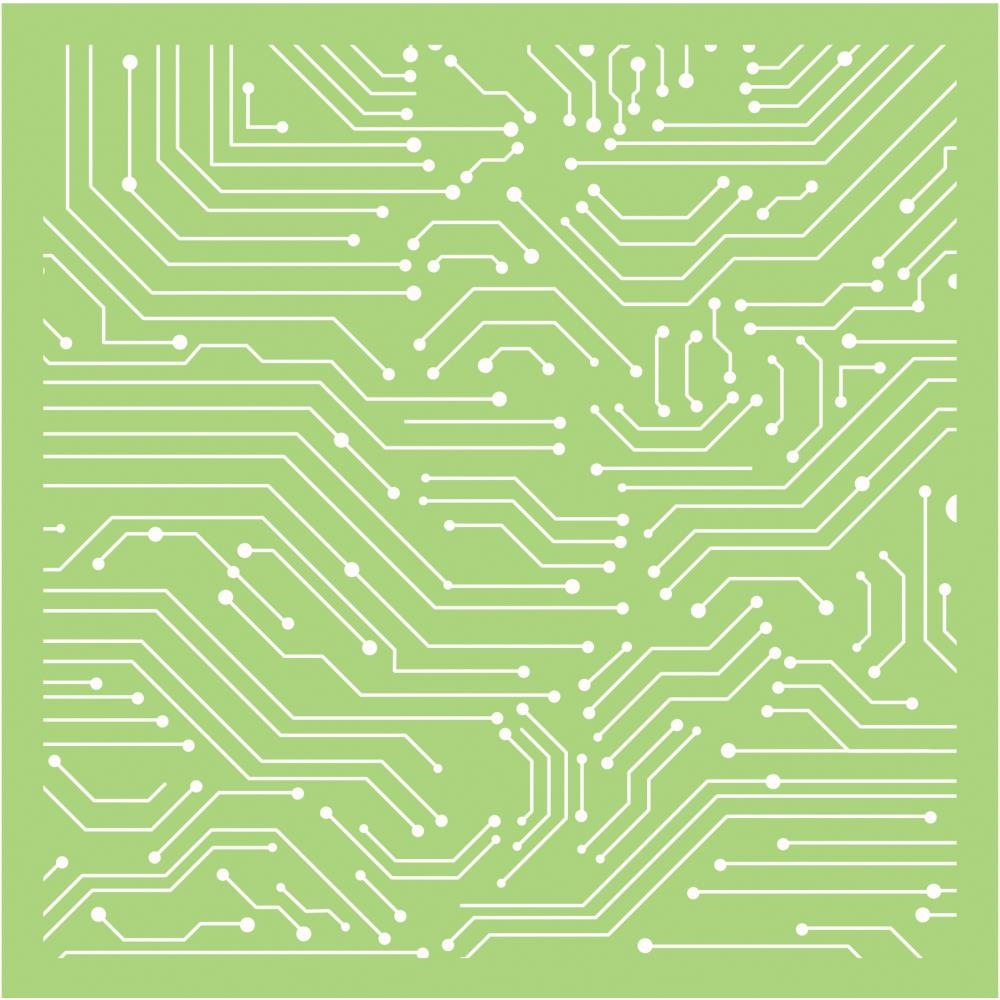 Kaisercraft LINEAR LINES 6x6 Inch Stencil IT494 zoom image
