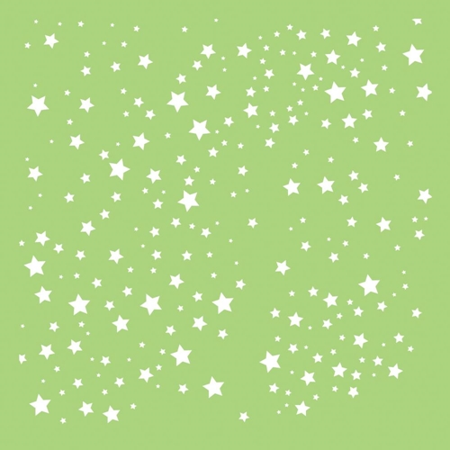 Kaisercraft SCATTERED STARS 6x6 Inch Stencil IT495 Preview Image